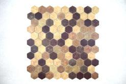 Gresite Hexagonal Tierra Mate
