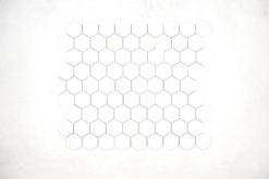 Gresite Hexagonal Blanco Mate