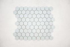 Gresite Hexagonal Azul Claro Mate