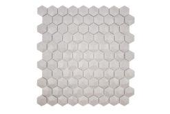 Gresite Hexagonal Frappe Mate Relieve