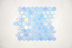 Gresite Hexagonal Azul Aire