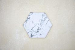 Hexágono Mármol Carrara