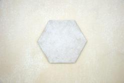 Hexágono cemento crema