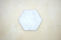 Hexágono Cemento Blanco