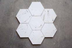 Azulejo Mármol Hexagonal